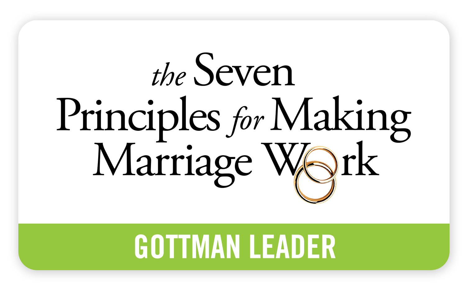 Gottman Referral Network